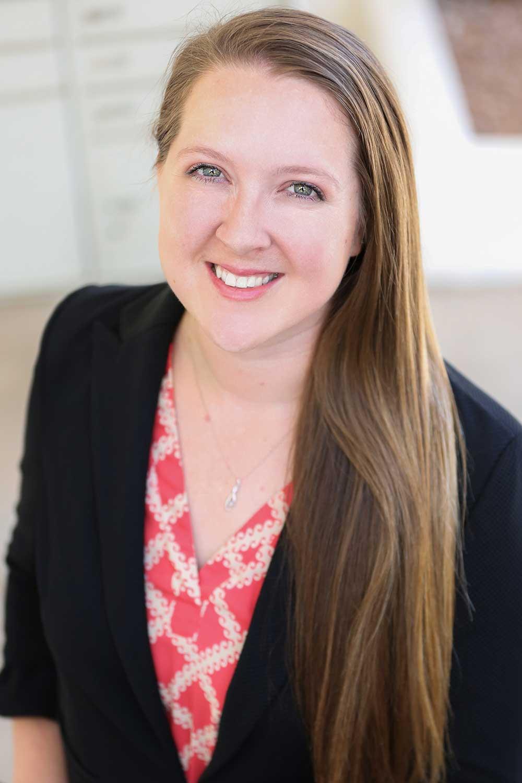 Photo of Emily Evans, employee benefits consultant